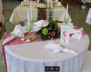 Hochzeitdeko Blumen Brautstrauss Gärtnerei Bock