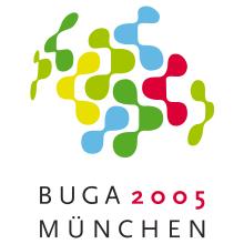 Logo Bundesgartenschau München 2005