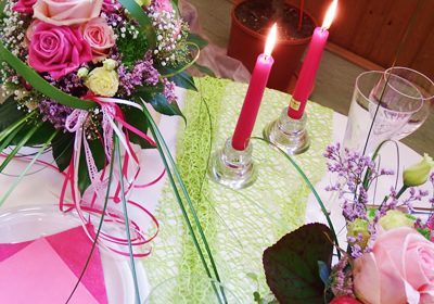 Hochzeitsfloristik - Events - Floristik - Gärtnerei Bock - Kirn - Bad Sobernheim - Merxheim - Simmertal - Martinstein - Meddersheim - Staudernheim - Bockenau - Odernheim - Lauschied - Monzingen - Auen