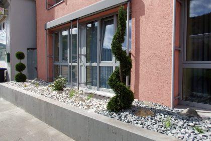 Steingarten - Steinabdeckung