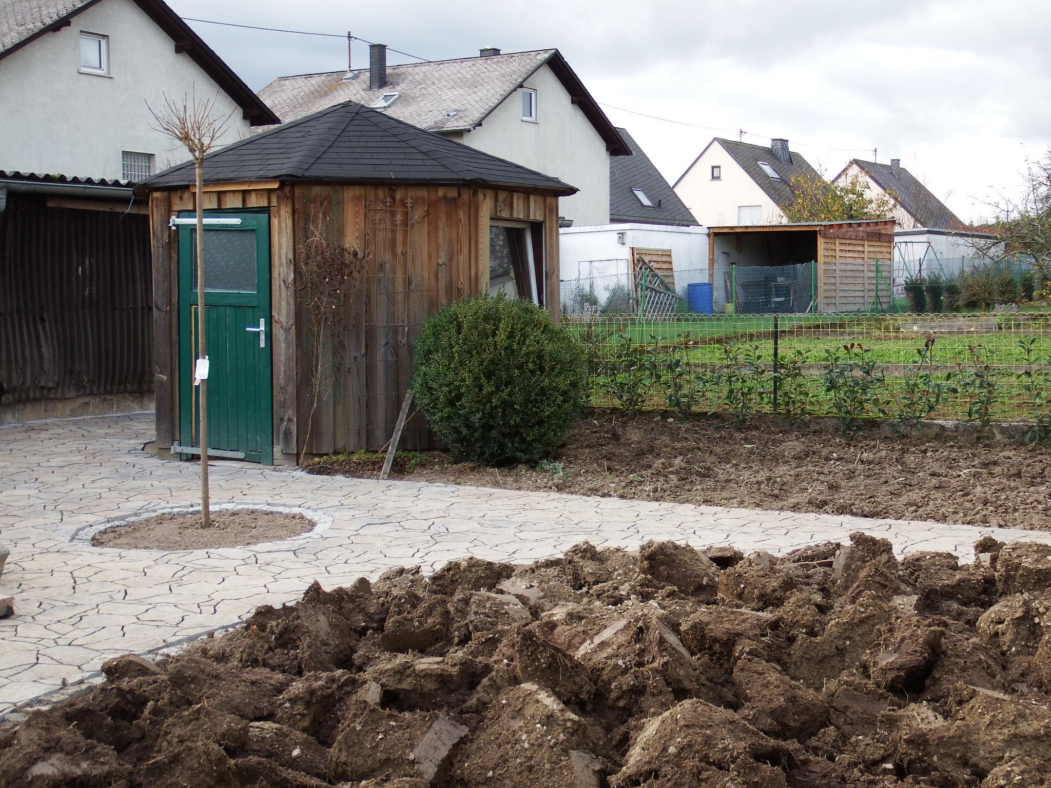 Erdarbeiten - umgefräster Garten - Gärtnerei Bock - Bad Sobernheim - Idar-Oberstein - Kirn - Bad Kreuznach - Simmern